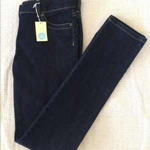 NWT Mini Boden Skinny Straight Leg Blue Jeans 14